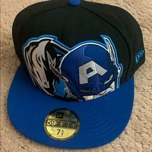 NWT NBA Dallas Mavericks Marvel New Era Cap 7 5/8